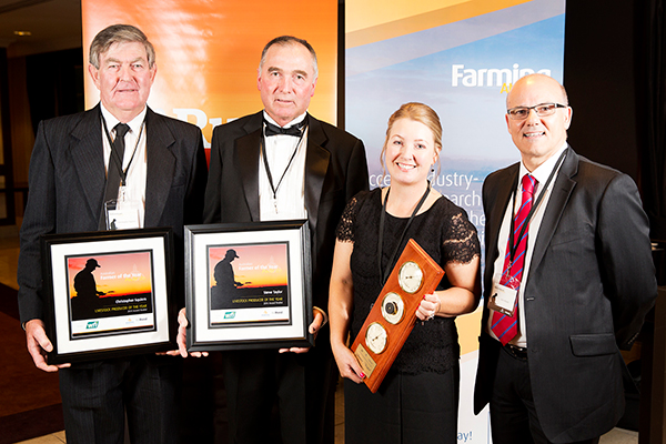WFI farm insurance, sponsor of Livestock Producer of the Year Award 2014